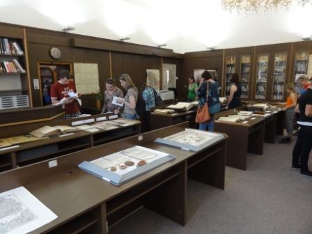 Výstava archiválií